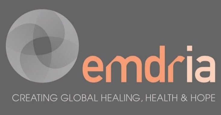 Logo Emdria: Creating Global Healing, Health & Hope